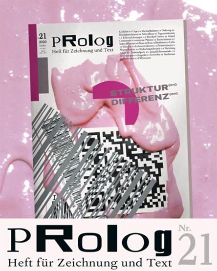 PROLOG Heft Nr. 21, Heft für Zeichnung und Text